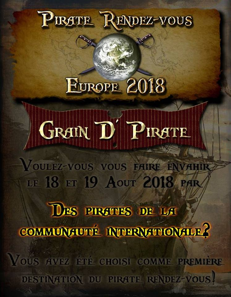 2018 Pirate Rendezvous in Europe
