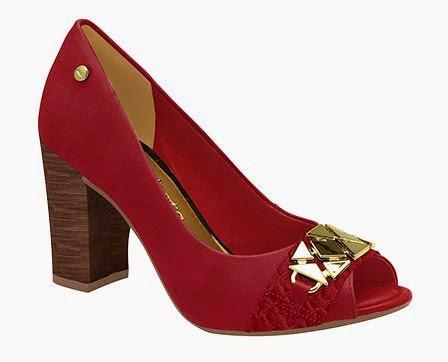 Sapatos vermelhos Dakota inverno