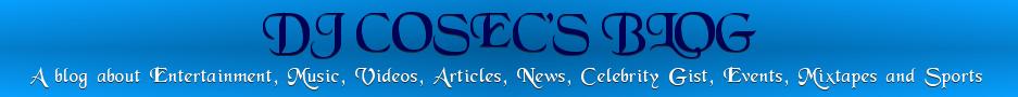 DJ Cosec's Blog