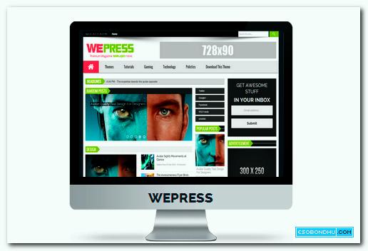 wepresss-responsive-blogger-template