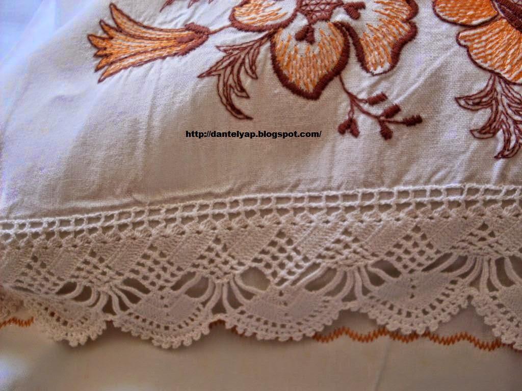 kenar dantelleri,yastık dantelleri,yatak odası dantelleri