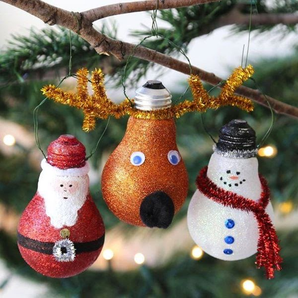 Creamalice Do It Yourself: ★ DIY Ampoules Déco Sapin Noël