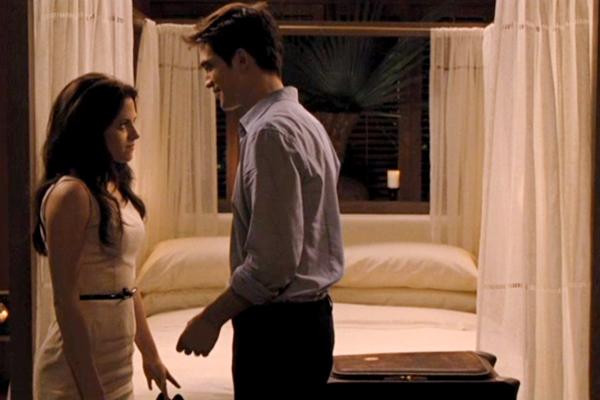 Dormitorio de Bella y Edward Decoración de Amanecer II Crepúsculo