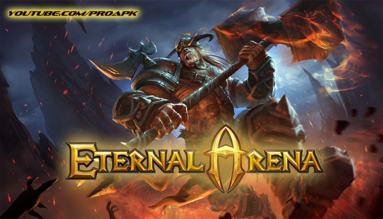 Eternal Arena MOBA Gameplay IOS / Android