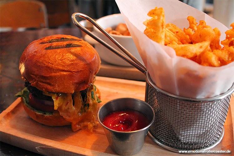 Burger zum Mittag