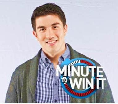 Luis Manzano, host of Minute to Win It