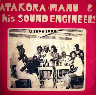 Atakora Manu & his Sound Engineers -Odefedefe, Ambassador