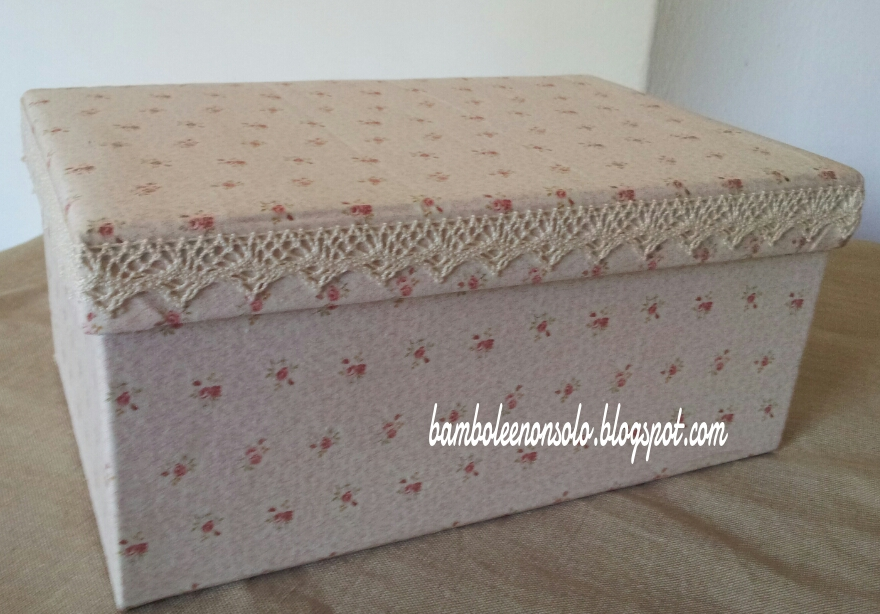 Bamboleenonsolo scatole scatole scatole for Scatole per armadi in tessuto