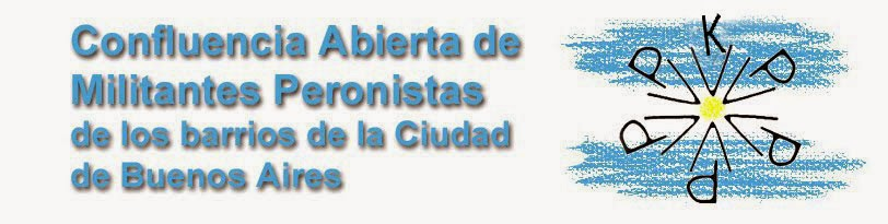 Confluencia abierta de militantes peronistas de los barrios de la ciudad de Buenos Aires