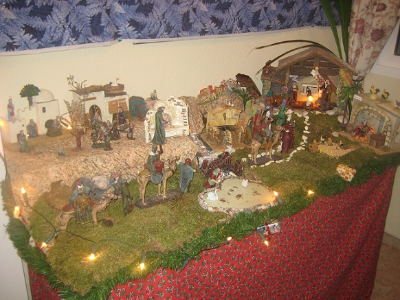 Como hacer el nacimiento de navidad imagui - Como hacer cosas para navidad ...