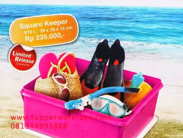 Katalog Tupperware Promo Mei 2014 square keeper