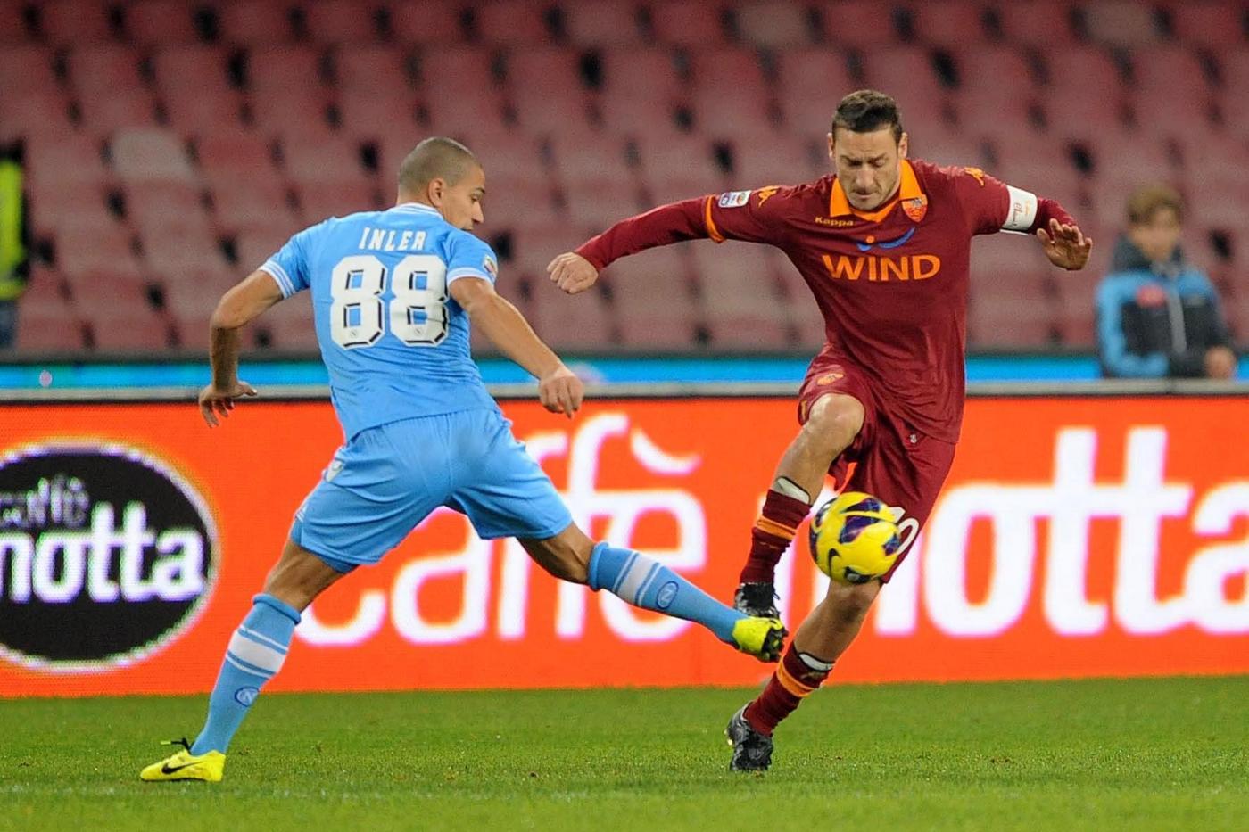 Diretta Napoli Roma streaming calcio live tv anticipo Serie A 1/11/2014.