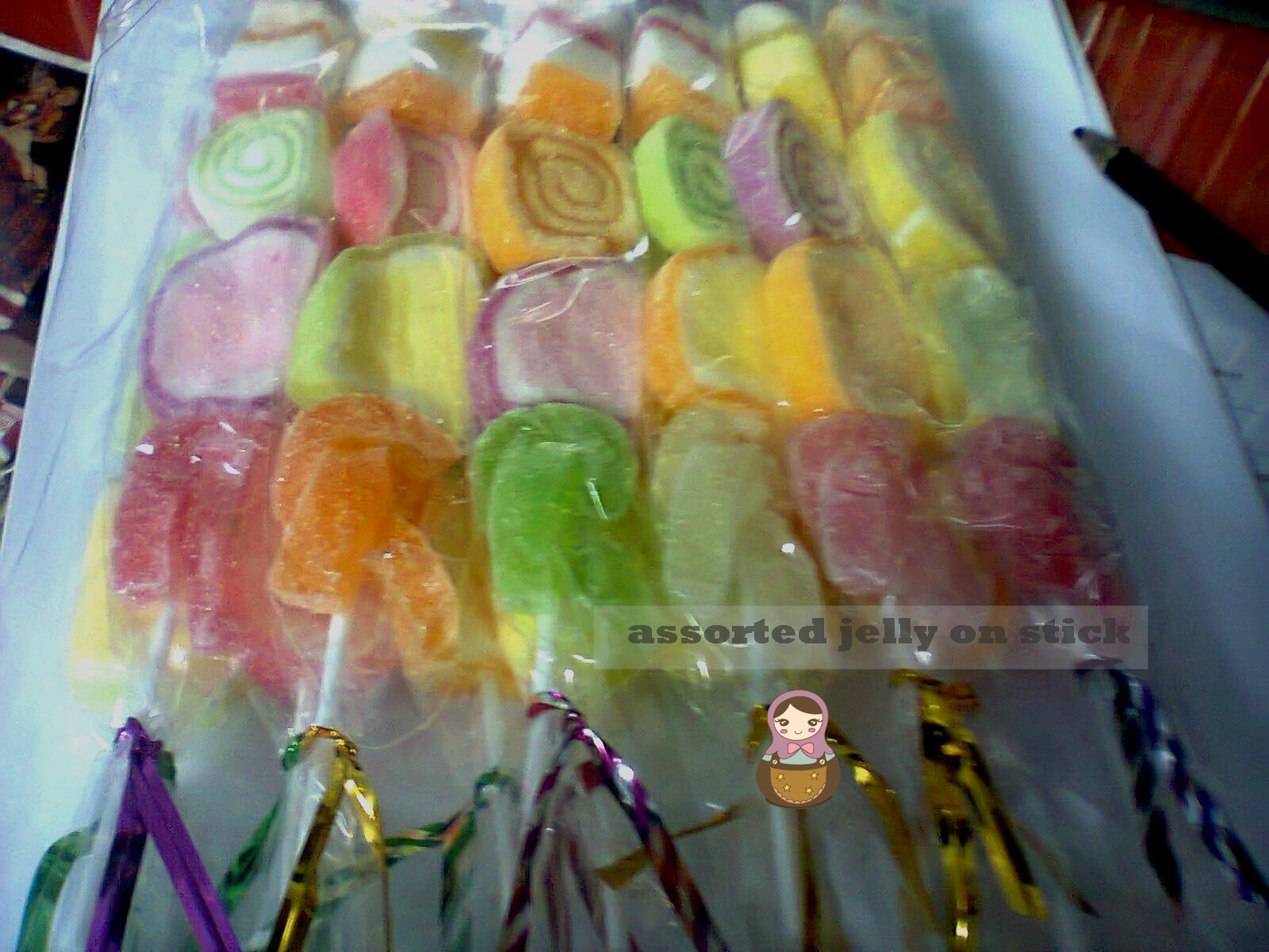 Assorted Jelly Stick Kaboobs Pack Ada Pcs