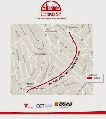 Ciclovia Avenida Padre Orlando Garcia da Silveira