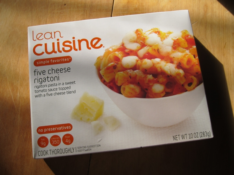 frozen friday lean cuisine five cheese rigatoni brand