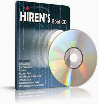 """تحميل أسطوانة الصيانة الشهيرة """" Hirens.BootCD.15.2 """" بأحدث إصداراتها - بحجم 592 ميجا"""