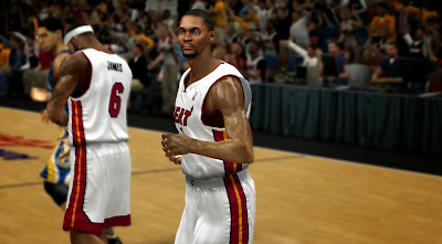 NBA 2K14 Chris Bosh CF Patch