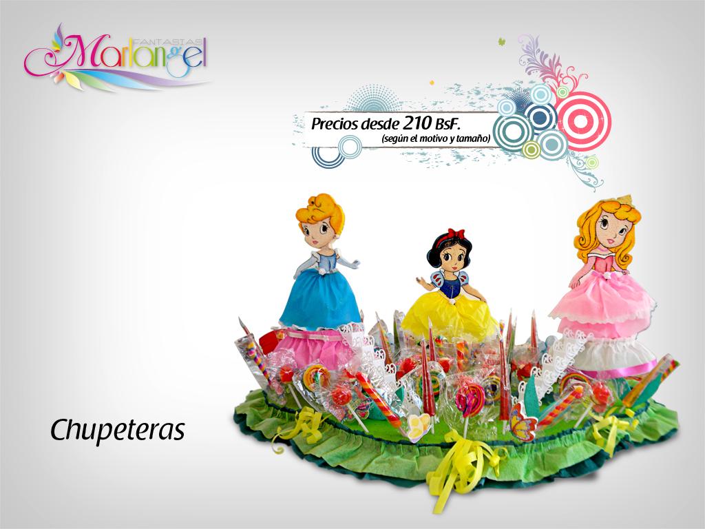 Chupetera Princesas | Marlangel