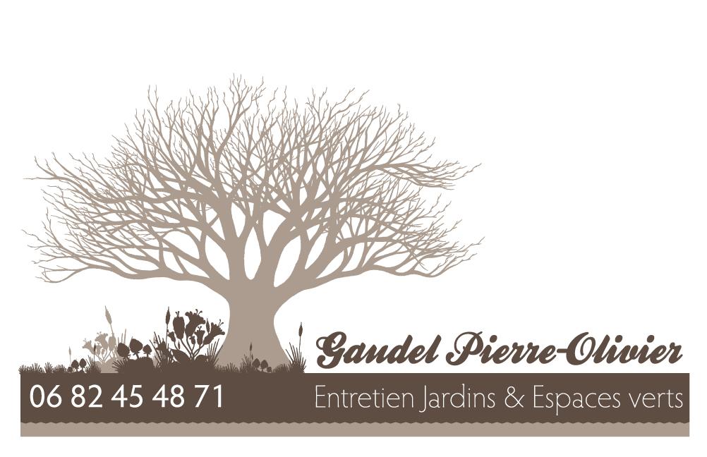 Carte De Visite Pierre Olivier Gaudel Travaux Paysagers
