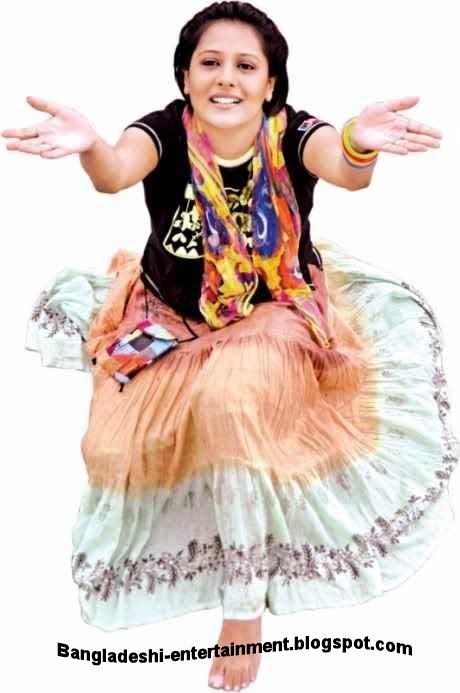 Bangladeshi model Opi Karim