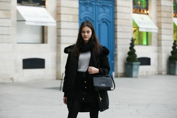 Greta Varlese, Paris, January 2016