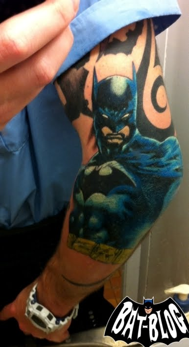 Fresh BATMAN TATTOO Art Photo