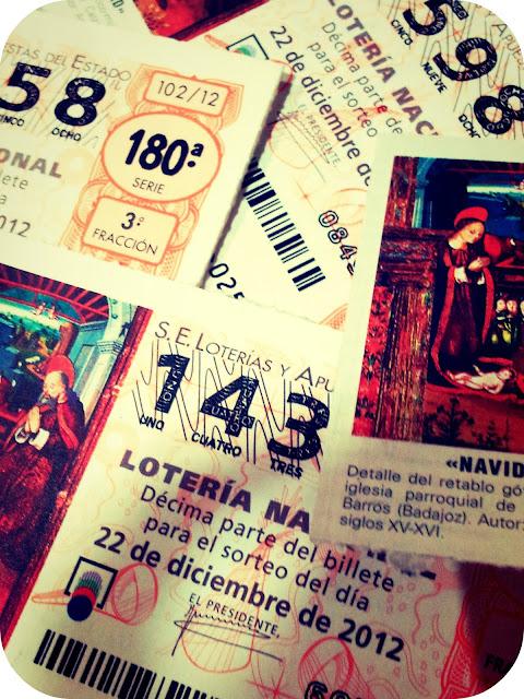 Lotería extra de Navidad 22 diciembre 2012