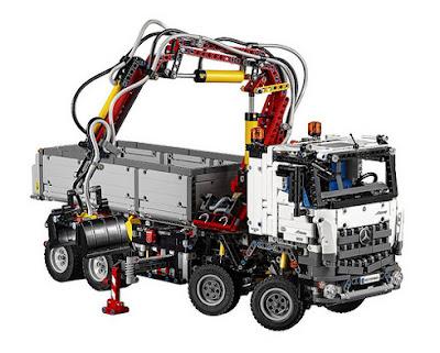 JUGUETES - LEGO Technic  42043 Mercedes-Benz Arocs 3245 | Camión   Producto Oficial 2015 | Edad: 11-16 años  Comprar en Amazon