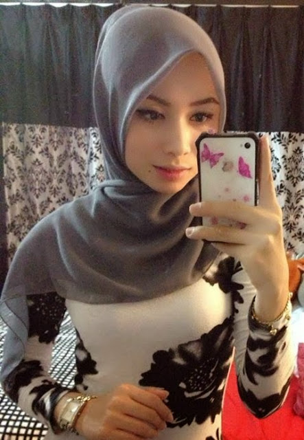 Kisah di Sebalik Gambar Gambar Gadis Melayu Bertudung Comel 10 FOTO