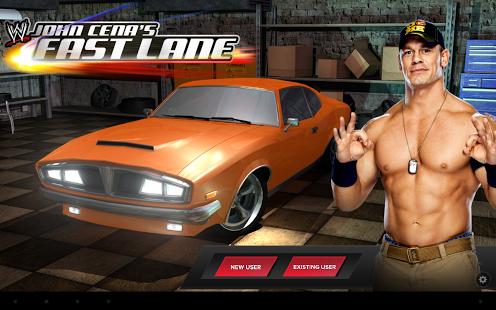 Download WWE: John Cena's Fast Lane v1.0.6 Free Apk + Data