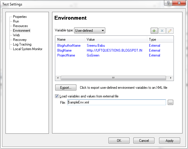 how to set environment variables in nginx