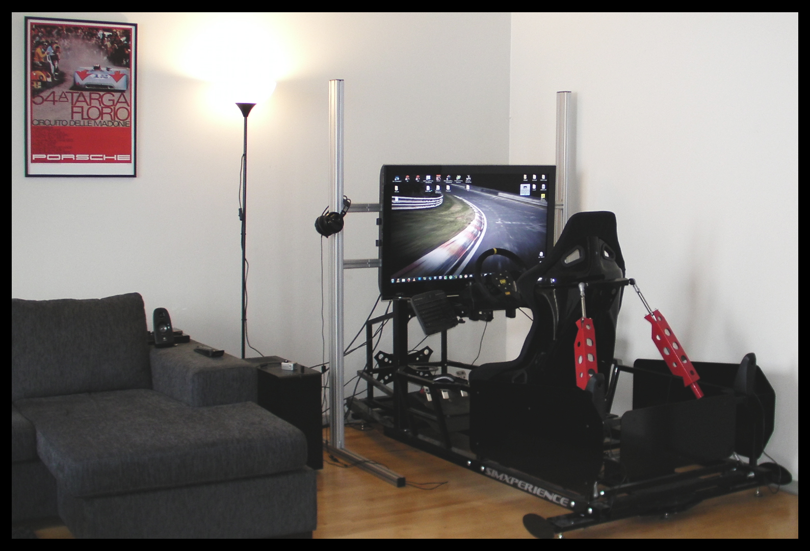 more than just pixels my racing rig update december 2012. Black Bedroom Furniture Sets. Home Design Ideas