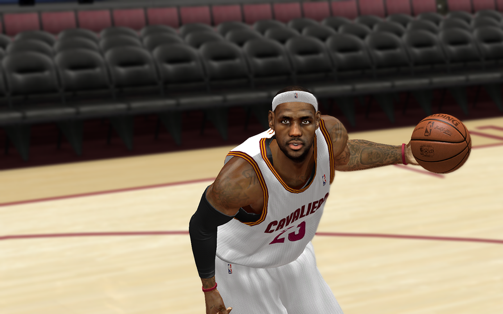 Cleveland Cavaliers LeBron James Patch
