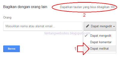 Cara membuat link download