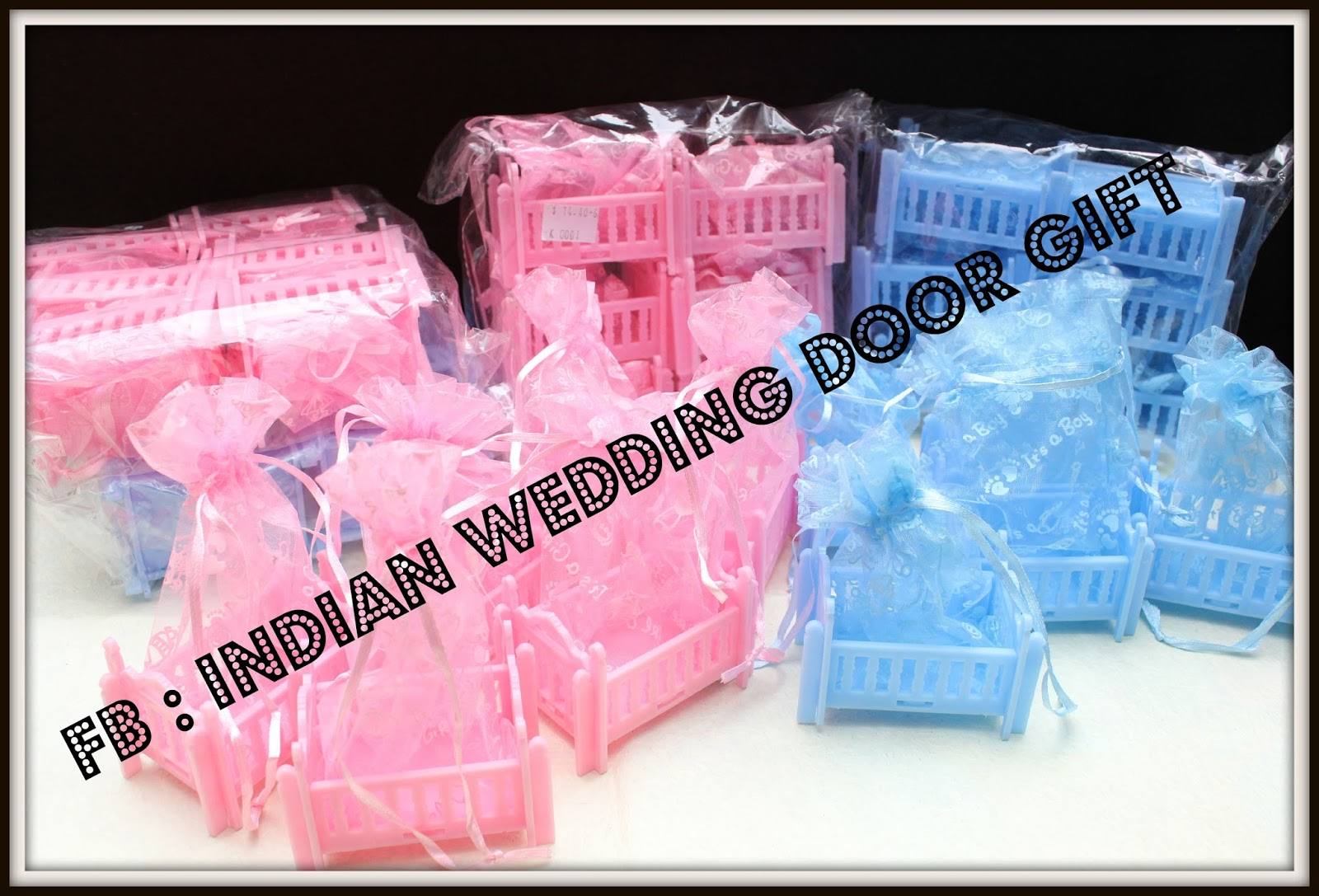 indian wedding door gift baby shower door gift aqiqah