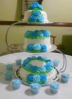 Kek Pengantin 3 Tingkat