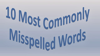 10 Most commonly Misspelled words