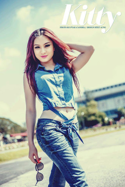 myanmar attractive model wut mhone shwe ye