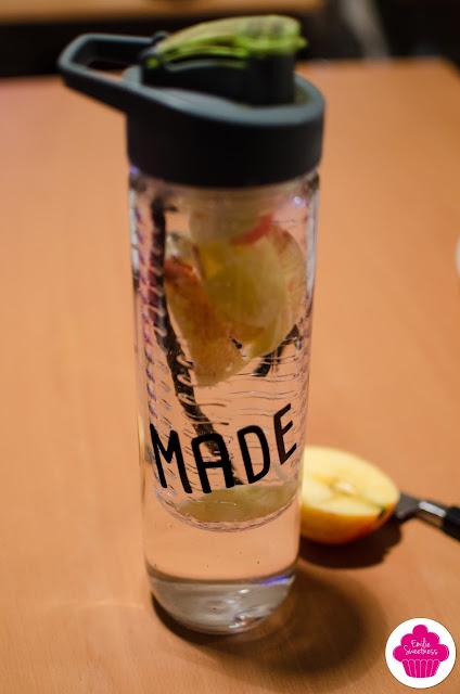 Detox water - Eau aromatisee - Gourde La Fin des Haricots