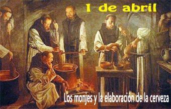 Los monjes en la elaboración de la cerveza