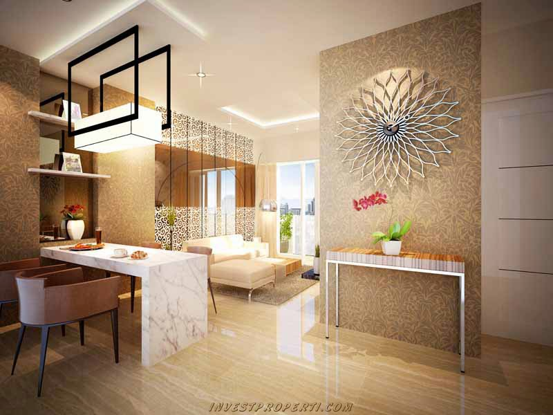 Interior Design Small Apartment Jakarta