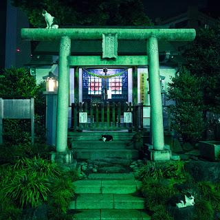 Cat shrine in Ikebukuro
