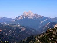 El Pedraforca des del Roc dels Quatre Batlles. Autor: Ricard Badia
