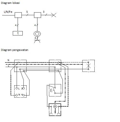 Saklar staircase berbagi ilmu b sistem pengaturan sraircase dari 2 dua titik ccuart Images