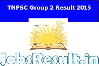 TNPSC Group 2 Result 2015