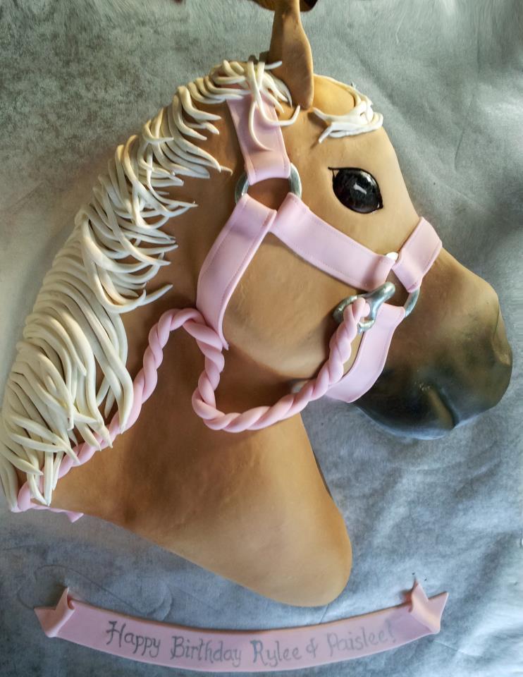 Horse Head Cake Design : For Heaven s Cake