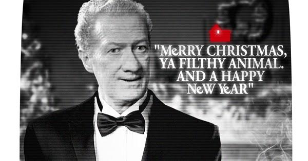 PrettyRandomThings Merry Christmas Ya Filthy Animal
