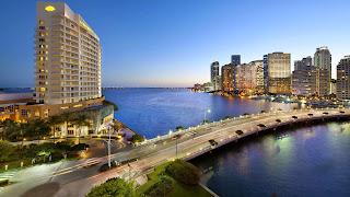 Ciudad de Miami Sky Line