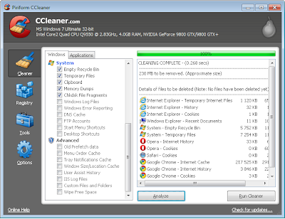 Download Free CCleaner 3.17.1688