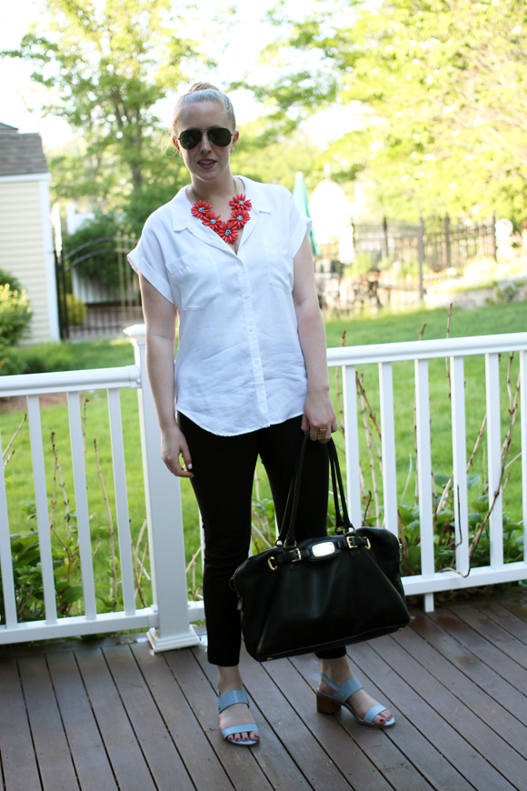 cloth & stone, boston style blogger, boston fashion blog, boston style, work style